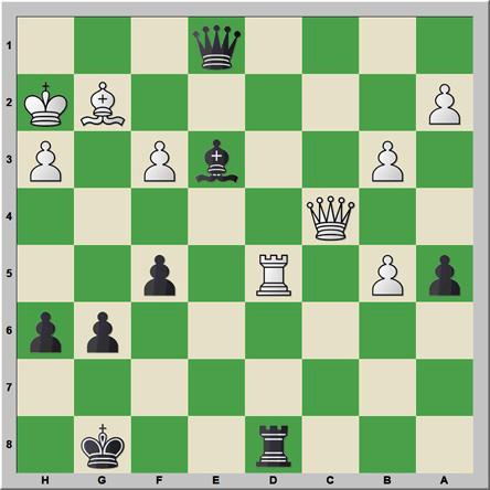 Sólo mates 121: Pallwitz – Burkhardt
