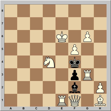 Mate en 2 - problema 175