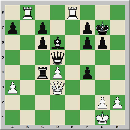 Mate 155: Shereshevski – Barkovsky